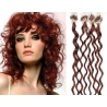 Kudrnaté vlasy Micro Ring / Easy Loop / Easy Ring / Micro Loop 60cm – měděné