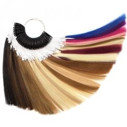 Barevný vlasový vzorník